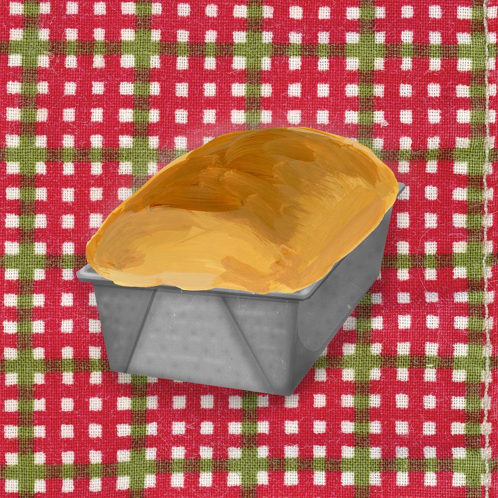 Moule à pain carré