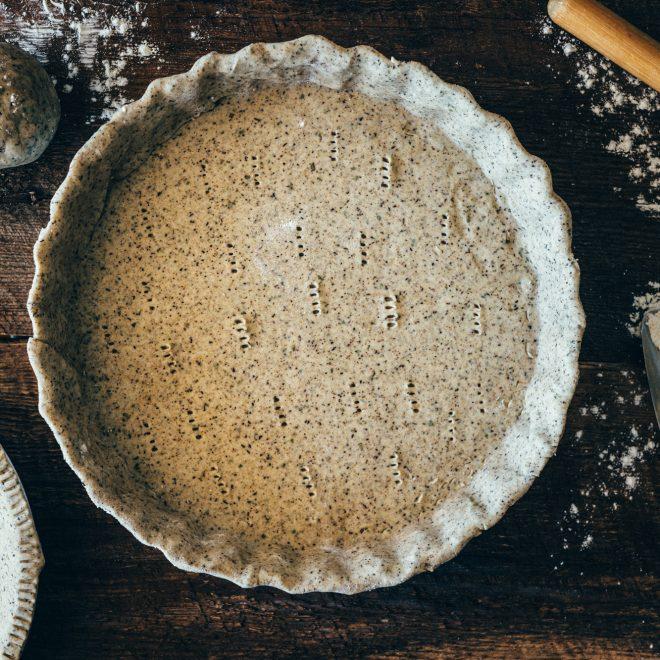 recette de pâte brisée à la farine de sarrasin
