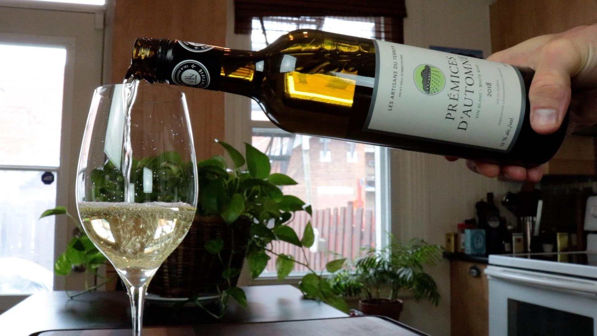 Prémices d'Automne Blanc 2018 du Vignoble Les Artisans du Terroir