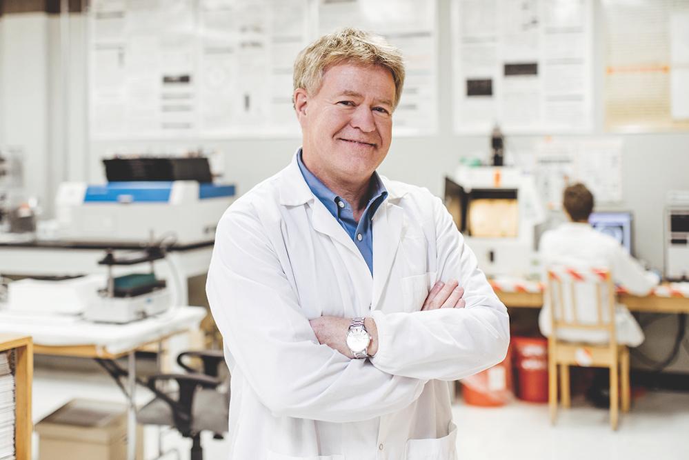 Le microbiologiste Sylvain Moineau