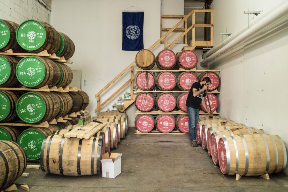 cofondateur distillerie Saint-Laurent