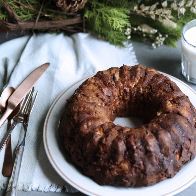 dejeuner reconfort recette couronne